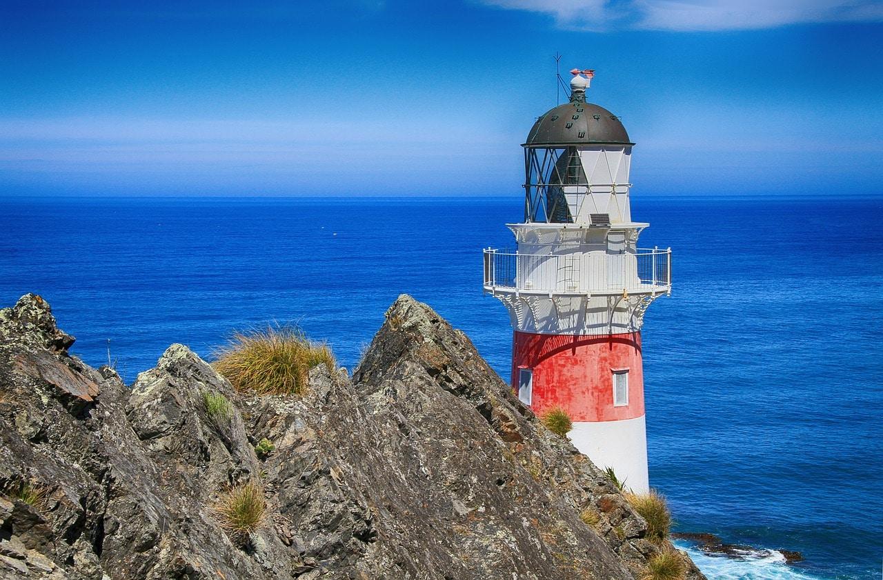Yachtcharter Neuseeland Leuchtturm