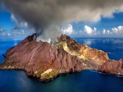 Yachtcharter Neuseeland Vulkan