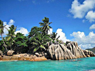 Yachtcharter Seychellen Klippen