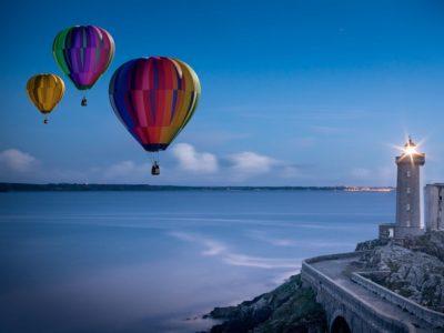 Yachtcharter Türkei Ballon und Leuchtturm