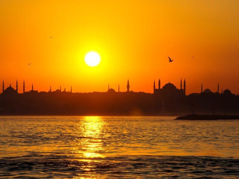 Yachtcharter Türkei Sonnenuntergang