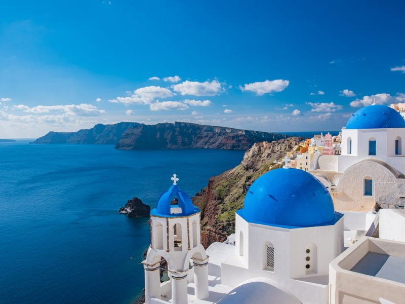 Yachtcharter Griechenland Kirche