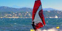 Josip Čačković windsurfen