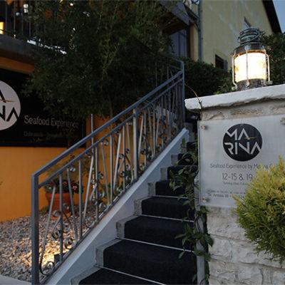 Marina-Restaurant-Eingang