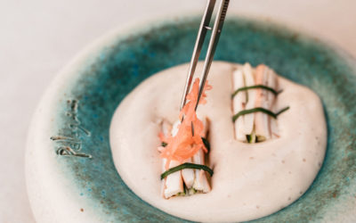 Konoba Pelegrini Essen wird mit Pinzette angerichtet