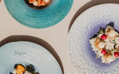 Konoba Pelegrini drei Teller mit Essen